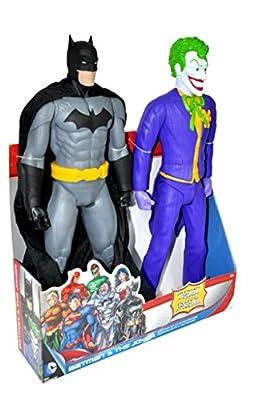 Jakks - Jp78231 - Figurine Bande Dessinée - Dc Comics - Batman & Joker - Pack De 2 - 50 Cm
