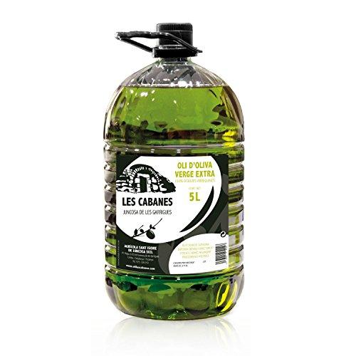 Aceite de Oliva Virgen Extra Les Cabanes - Denominación de Origen Protegida Les Garrigues - Garrafa 5 litros