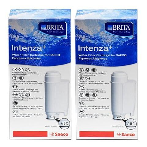 Saeco Intenza+ Wasserfilter von BRITA, Filter, Kartusche, 2er Pack