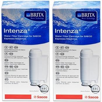 2x SAECO Intenza+ Cartouche filtrante pour BRITA Water Technology