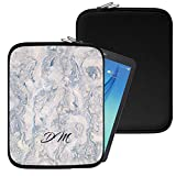 "Personalised Marble Neoprene Tablet Sleeve Bag Case -(55)- AOC Breeze MW0821-GC (8"")"