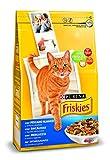Friskies Katze - Kroketten Seehecht und legumes fügst - 4 kg