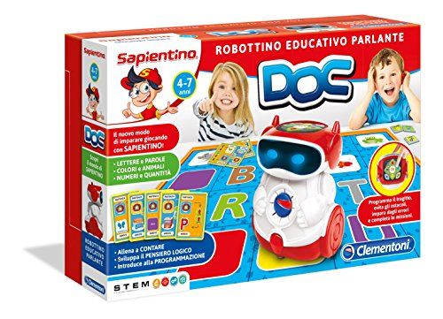 Clementoni 11112 - Sapientino Doc Robottino Educativo