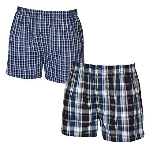 2 Ceceba Herren Slips Boxer Shorts Blau