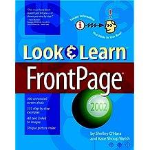 Look & Learn FrontPage 2002 (Deke McClelland's Look & Learn)