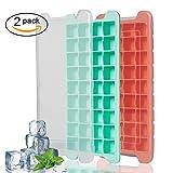 2 Stück Eiswürfelform Mit Deckel 36 Fach Eiswürfel Eiswürfelform BPA