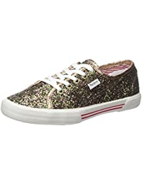 Pepe Jeans Aberlady Flash Multi, Sneakers Basses Femme