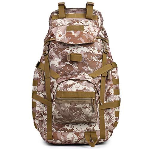 MUTANG 60L Spacious Rucksack - Reiserucksack für die Rückseite, gepolsterte Air-Mesh-Tasche, Taschen-Campingtasche, strapazierfähiges Daysack - für alle Jahreszeiten (Farbe : D) - Air-mesh Rucksack
