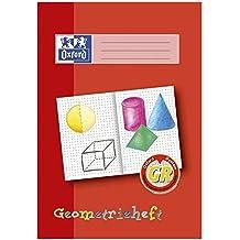 Oxford 100050109 Schreiblernheft LIN GR - A4, 16 Blatt, 90g/qm, Geometrieheft