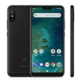 Xiaomi Mi A2 Lite Smartphones 5.84' Pantalla Full HD 4 GB RAM + 64 GB ROM Snapdragon 625 Octa Core Dual SIM MicroSD 5MP Frontal + 12MP 5MP Dual Cámara Trasera Móviles Teléfono Negro(2018