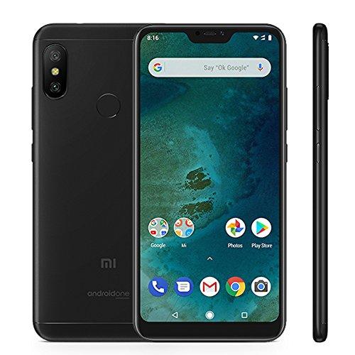 """Xiaomi meu A2 Lite 5.84 smartphones"""" Pantalla Full HD 4 GB RAM + 64 GB ROM Snapdragon 625 Octa Core Dual SIM MicroSD de 5 megapíxels frontal + 12MP 5MP Dual Cambra Posterior Mòbils Telèfon Negre(2018"""