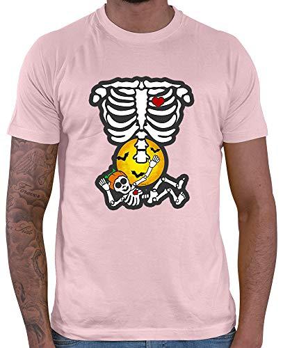 Ninja Kostüm Rosa Baby - HARIZ  Herren T-Shirt Baby Hexe Halloween Kostüm Verkleidung Kürbis Plus Geschenkkarten Rosa L