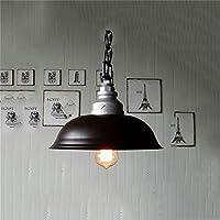 Alta qualità-- vento industriale retro schermo nero magazzino ufficio ingegneria industriale biliardo caffè coperchio lampadario --Efficiency:A+++