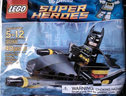 LEGO Super Heroes: Batman Und Jetski Setzen 30160 (Beutel)