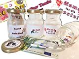 Der Perlenspieler Geldgeschenk Geschenkverpackung Geschenkglas Geburt Taufe Hochzeit Geburtstag Wünsche Sprüche Personalisierbar
