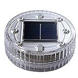 Merssavo 1x Tauch-LED-Leuchten Wechselnde Wasserdichte Unterwasserbeleuchtung Batteriebetrieben mit Controller für Aquarium, Vase Basis, Brunnen Pool (Grün)