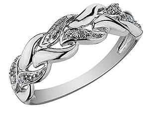 Ag Real Diamond Katrina Ring AGSR0269 (10.0)