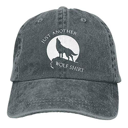 Preisvergleich Produktbild Presock Just Another Wolf Shirt Adult Cowboy Hat Baseball Cap Adjustable Athletic Customizable New Hat for Men and Women
