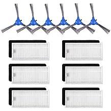Kit de Accesorios de Repuesto para Cecotec Conga Excellence 1390 Robot Aspiradora, Material Premium,