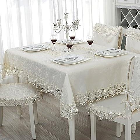 BEEST-Runden Tisch Weinschrank Tischdecke Spitze Spitze Kissen Kissen TV-schrank Sitzkissen,