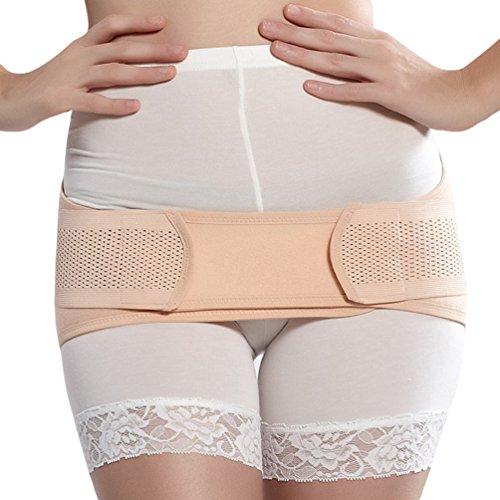 Dexinx Mutterschaft Atmungs Postpartale Erholung Becken Stabilizer Volltonfarbe Postnatale Hüfte Unterstützung Body Shaper Hautfarbe M