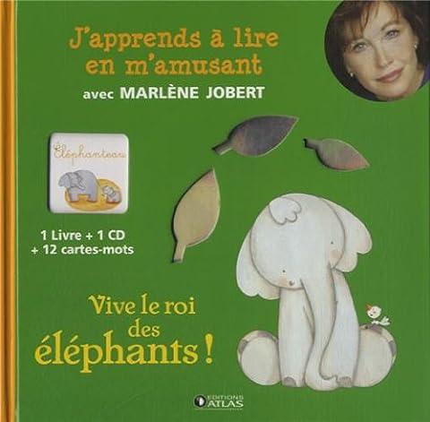 J'apprends à lire en m'amusant : Vive le roi des éléphants !