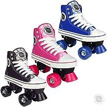 Pop Squad - Midtown Quad Roller Skate - Varios colores / tamaños (Negro, UK4 (38 EU))