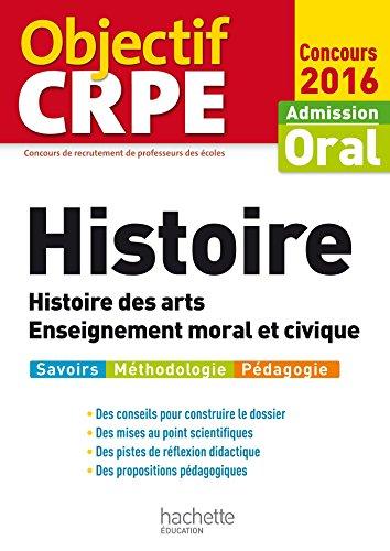 Livres Objectif CRPE Histoire - 2016 pdf