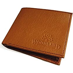 Wood Land Tan Men's Wallet