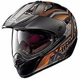 x-551GT Kalahari Helm Moto Cross Integralhelm mit Visier und Sonnenblende M Kalahari