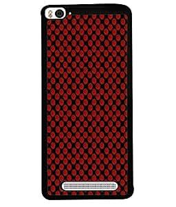 PrintVisa Designer Back Case Cover for Xiaomi Redmi Mi 4i :: Redmi Mi 4i (Buttoned Classic Closeup Golden Comfort Covering Beautiful Decor)
