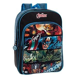 51XQf%2B9xIBL. SS300  - Joumma 44124A1 Avengers Mochila Escolar, 40 cm, Multicolor