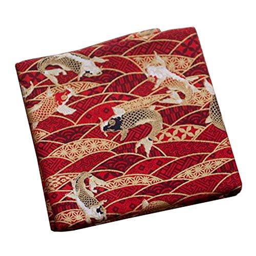 Black Temptation Telas Hechas a Mano de Estilo japonés -DIY Regalos Bolso/Kimono / Fundas de Almohada-A4