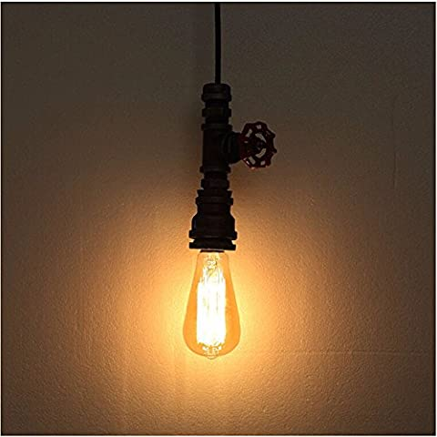 LJSYYR Industrial Light lampada Lampadari Lampade retr¨° ristorante , tubi