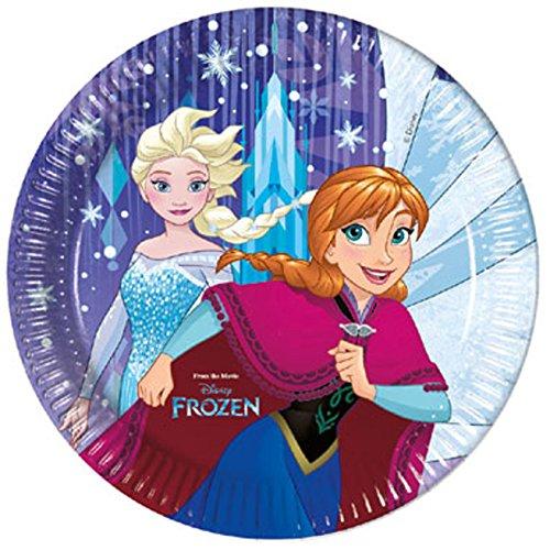 schirr Frozen Snowflakes, Teller, One Size ()