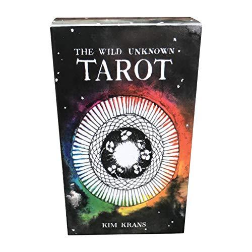 XINJIA Tarot-Deck-Karten, Tarot-Karten Anfänger, 78 Tarot-Einzelkarten in