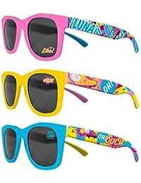 Soy Luna - Gafas de sol con funda, 3 colores (Kids WD18009)
