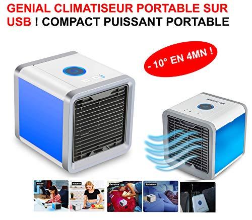 El Club mecánico Potente Compacto climatizador USB