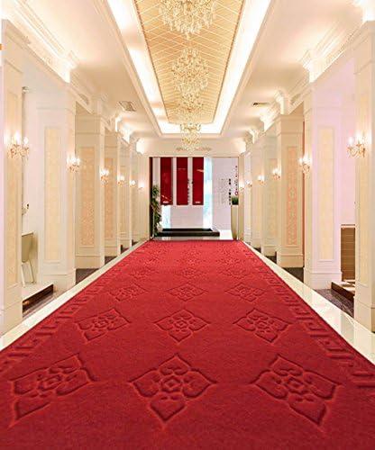 Yangguang ZENGAI Tappeto Tavolino Mats Tagliati d'ingresso Possono Essere Tagliati Mats Super-Assorbente Antiscivolo Mats Scale, corridoi Corridoio rosso Carpet Zerbino (1-20 Metri) (Dimensioni   1.2  10m) 25d6ab