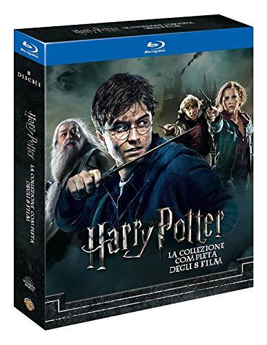 Harry Potter 1-7.2 - Complete Collection 8 Filme [Blu-ray] [EU Import mit deutscher Sprache] -