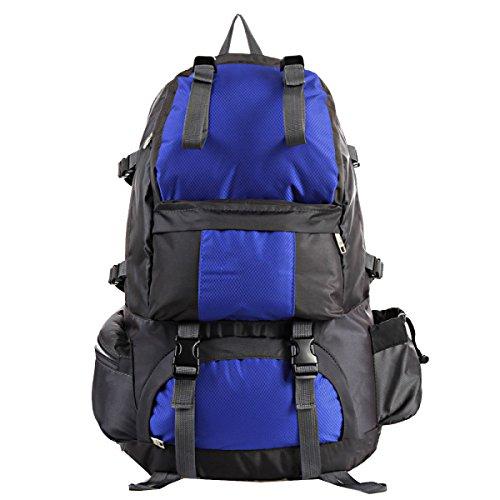 Xin.S50 Litri Sport All'aria Aperta Escursionismo Arrampicata Su Roccia Zaino Da Campeggio Sacchetto D'alpinismo Professionale Zaino Da Viaggio. Multicolore Red