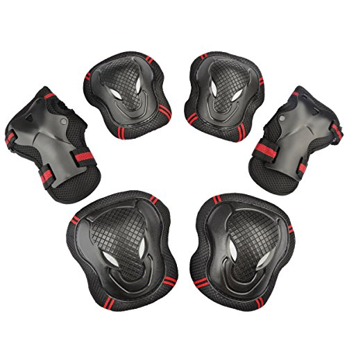 symbollife-skateboard-roller-blading-elbow-knee-wrist-protective-safety-gear-pad-guard-6pcs-set-size
