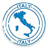 2 x 20cm/200 mm Italie Autocollant de fenêtre en verre Voiture Van Locations #9212