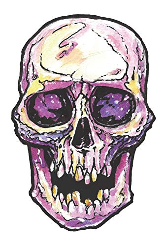 Journal: Watercolor Skull Notebook | 6 x 9 In, 120 Pages (Watercolor Spirit Animals, Band 37)