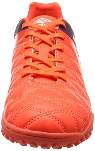 Umbro Medusæ II Club TF, Chaussures de Football Homme Rouge (Winter Bloom / White / Fiery Coral)