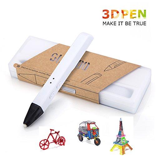 3D Drucker Stift, 3D Druckstift mit 1.75 mm PLA/PCL Filament für Kinder, Erwachsene, Kritzelei, Zeichnung und Kunst & kreative Werke
