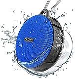 Olafus Speaker Doccia, IPX7 Impermeabile Altoparlante Bluetooth Portatile 5.0 con Super Bass e HD Sound, Speaker Wireless con Forte Ventosa e Microfono Integrato per Bagno, Spiaggia, Piscina