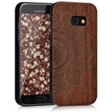 kwmobile Samsung Galaxy A3 (2017) Hülle - Handy Schutzhülle aus Holz - Cover Case Handyhülle für Samsung Galaxy A3 (2017)