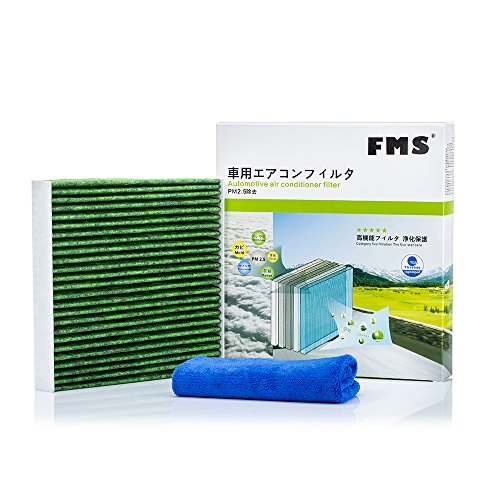 FMS 285 Innenraumfilter Sechs-Schicht Kabinenluftfilter Aktivkohle Pollenfilter für Allergiker im Auto