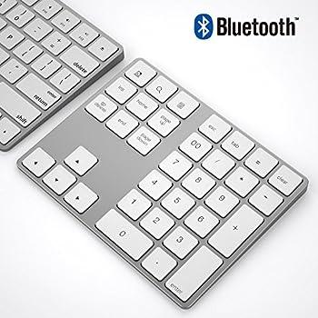 ikos Bluetooth Ziffernblock 34-Keys Bluetooth Keypad,White
